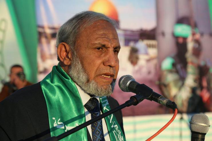 الزهار: حماس حركة يحترمها العدو قبل الصديق عقب ضرب تل أبيب