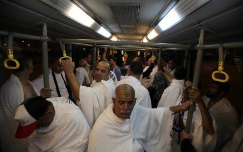 حجاج قطاع غزة يبدأون بالعودة للقطاع مساء غد الخميس