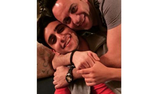 مصطفى قمر يحتفل بعيد ميلاد ابنه تيام