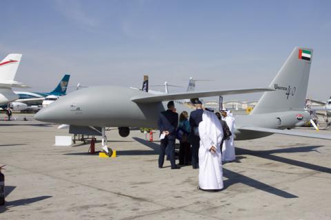 الطائرات الإماراتية بدون طيار تثير قلق إسرائيل