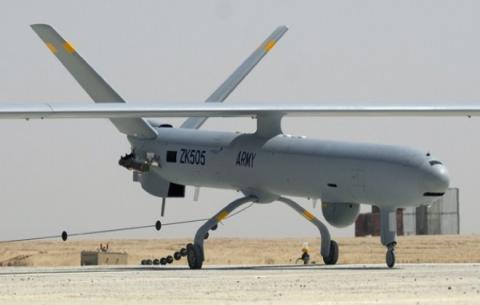 طائرات بدون طيار اسرائيلية