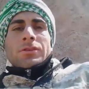 فيديو - لحظة موت أحد الإيرانيين أثناء توجيه رسالته لأهله في سوريا