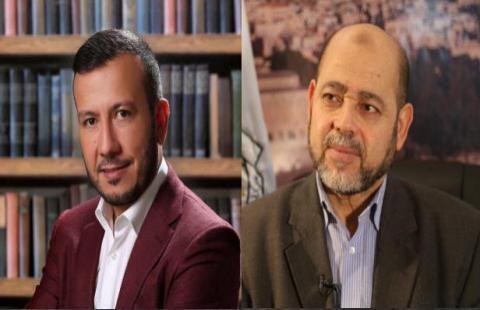 غسان جاد الله و موسى أبو مرزوق