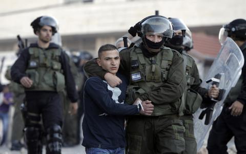 اعتقال فلسطيني