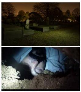 ذهب ليلاً الى المقبرة ونبشَ قبر خاله في السعودية والسبب لا يمكن تصديقه