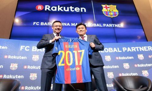 """صورة - هذا هو قميص برشلونة الجديد بعد تعاقده مع """"راكوتين"""""""