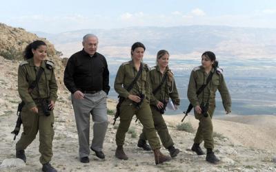 المجندات الإسرائيليات