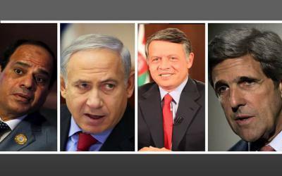 هارتس: قمة سرية جمعت نتنياهو والسيسي وعبد الله لبحث مبادرة للسلام الاقليمي