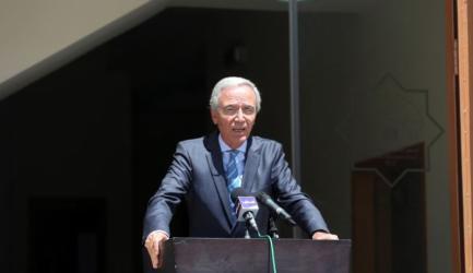 كحيل : اطلعنا الرئيس عباس على التحضيرات لاجراء الانتخابات التشريعة
