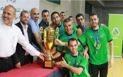 المجمع بطلاً لسوبر الطاولة في قطاع غزة