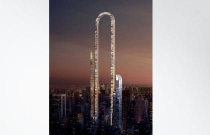 الكشف عن تصميمات أطول ناطحة سحاب منحنية في العالم!