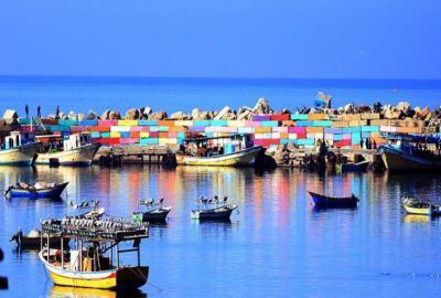 ميناء في غزة