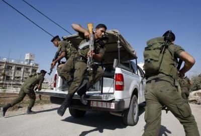 الأجهزة الأمنية الفلسطينية