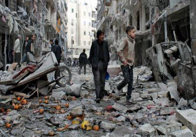سوريا.. لاجئين فلسطينيين