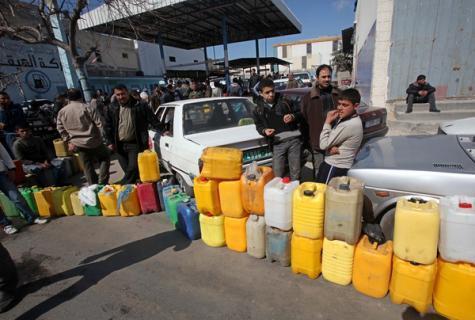 ازمة وقود فى غزة