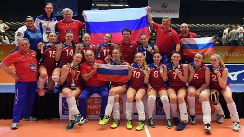 روسيا تتوج بلقب أوروبا لكرة الطائرة للسيدات
