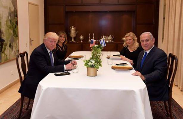 دونالد ترامب بنيامين نتنياهو