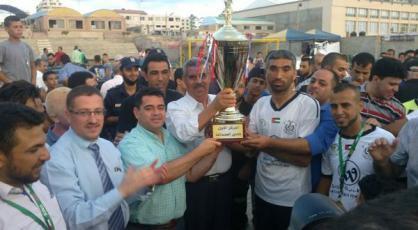 نسخ أبطال كاس فلسطين لكرة القدم