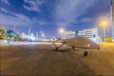 طائرة من دون طيار من تصنيع سعودي محلي