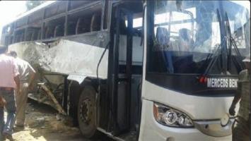 حافلة أقباط في المنيا