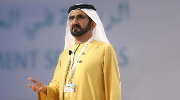 حاكم دبي الشيخ محمد بن راشد آل مكتوم