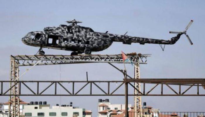 الطائرة الخاصة بالرئيس الفلسطيني الراحل ياسر عرفات