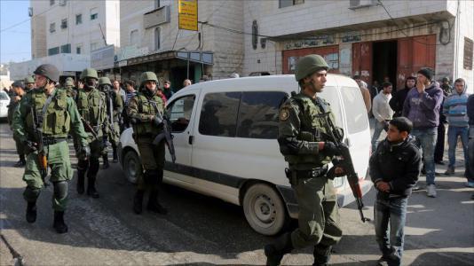 الشرطة العسكرية فلسطين