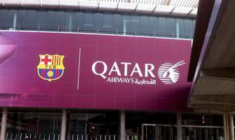 """برشلونة يوضح موقفه من شركة """"الخطوط الجوية القطرية"""""""