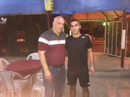 محمد يامين يحط الرّحال في هلال القدس