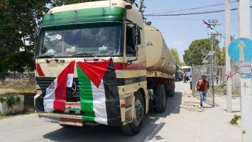 السولار المصري لكهرباء غزة