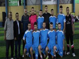 عائلة أبو حبل تحسم لقب بطولة شهداء قرية برير