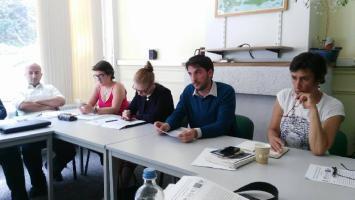 إجتماع موسع مع المؤسسات الأوروبية المناصرة للشعب الفلسطيني في بروكسل