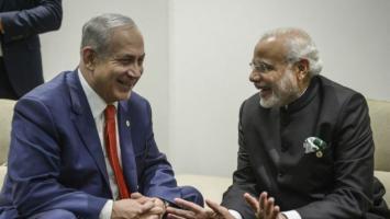 رئيس وزراء الهند ونتنياهو