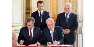 المالكي ونظيره الفرنسي يوقعان اتفاقية في مجال التعاون الثقافي