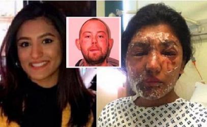 حارق المسلمة وابن عمها بأسيد الكراهية في لندن يستسلم