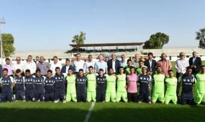 برنامج الأمم المتحدة الانمائي يطلق بطولة طوكيو لكرة القدم في غزة