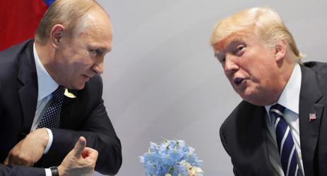 دونالد ترامب وفلاديمير بوتن