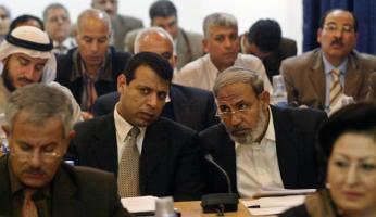 محمود الزهار ومحمد دحلان