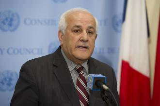 منصور: جلسة مجلس الأمن ستناقش الاعتداءات في غزة والضفة