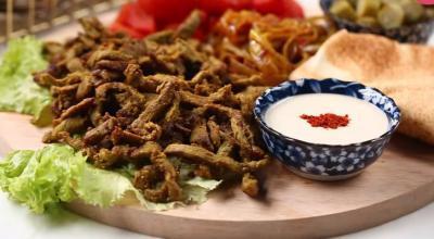 بالفيديو.. طريقة عمل شاورما لحم تركية