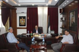 محافظ جنين يلتقي مؤسس شركة كنعان