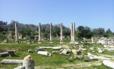 مجهولون يعتدون على موقع أثري في سبسطية