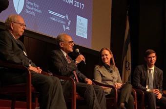 مرة أخرى.. تركي الفيصل بمؤتمر بنيويورك برفقة رئيس الموساد