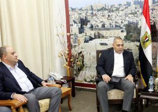 الوادية يؤكد دور الوفد الأمني المصري لتنفيذ المصالحة