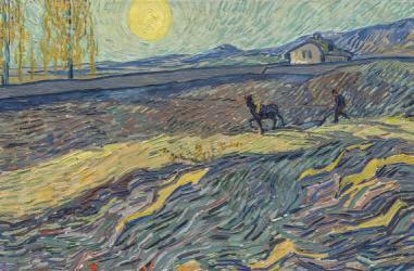 بيع لوحة فان جوخ Laboureur dans un champ في مزاد ب81 مليون دولار