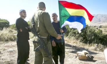الجيش الإسرائيلي أعاد عشرات الدروز السوريين بعد قطعهم الحدود قرب الجولان