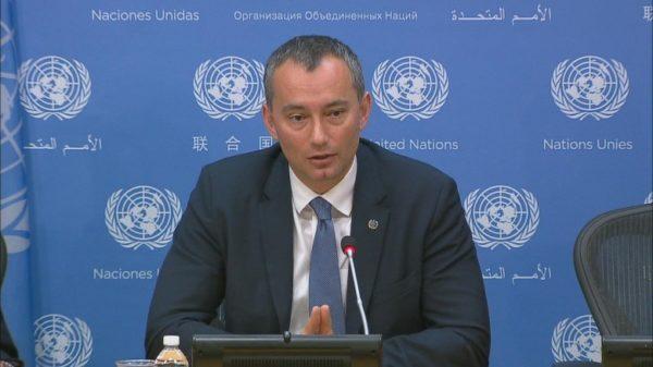 مبعوث الأمم المتحدة إلى الشرق الأوسط نيكولاي ميلادينوف