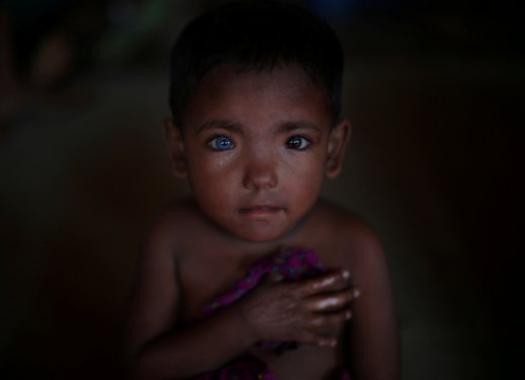 صورة طفلة من مسلمي ميانمار بين أفضل 100 لهذا العام