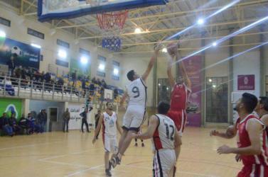 خدمات المغازي يتفوق على غزة الرياضي في دوري السلة