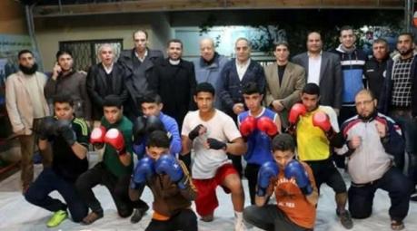 اتحاد الملاكمة ينظم ورشة عمل لحكامه بنادي النصر العربي بغزة